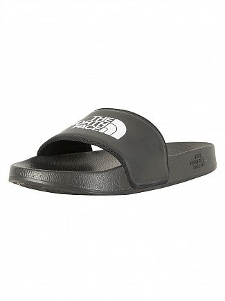 The North Face Black Basic Camp Sliders