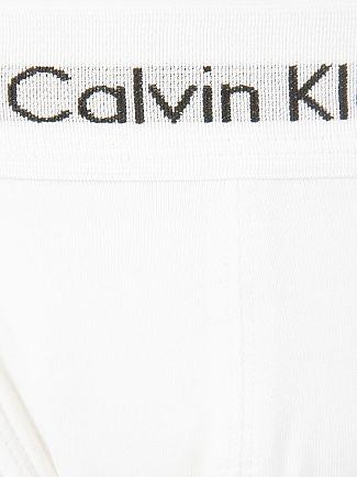 Calvin Klein White 2 Pack Cotton Stretch Jockstrap