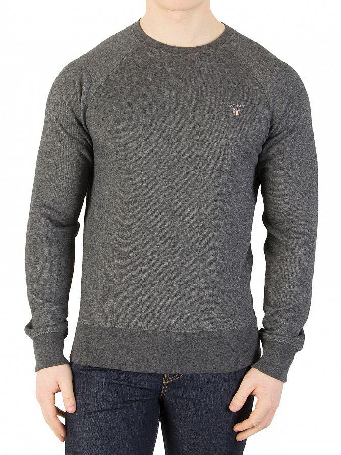 Gant Dark Antracit Original Sweatshirt