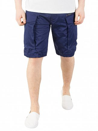 G-Star Imperial Blue Rovic Zip Loose Cargo Shorts