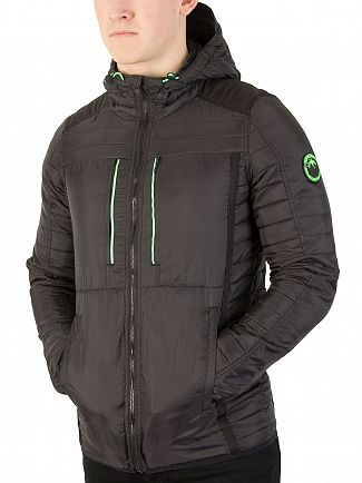 Superdry Black Posh Sport Fuji Jacket