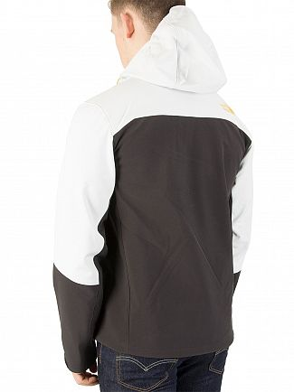 The North Face White/Black Apex Bionic Jacket