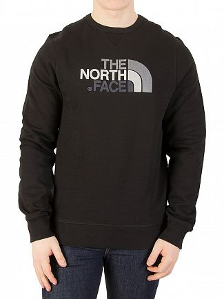 The North Face Black Drew Peak Sweatshirt