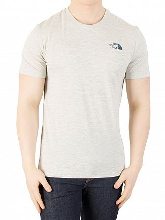The North Face Oatmeal Heather Simple Done T-Shirt