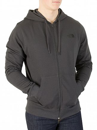 The North Face Asphalt Grey Zip Hoodie