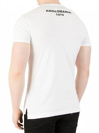 Vivienne Westwood White Scribble Arm & Cutlass Print T-Shirt