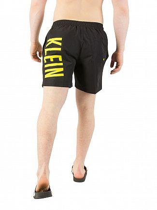 Calvin Klein Black Medium Drawstring Swimshorts