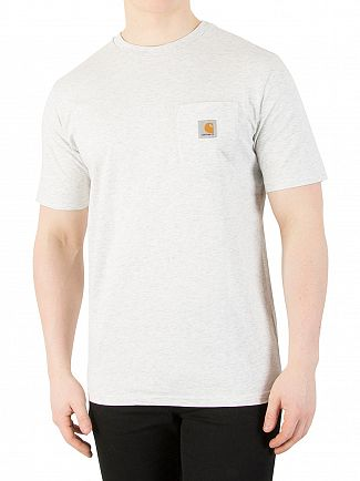 Carhartt WIP Ash Heather Pocket T-Shirt