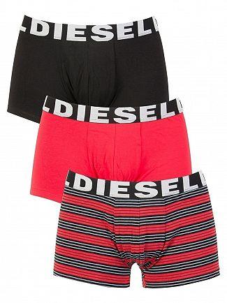 Diesel Stripe/Red/Black 3 Pack Shawn Seasonal Edition Trunks
