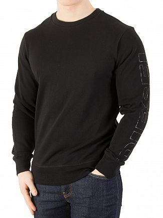 Diesel Black Willy Sweatshirt