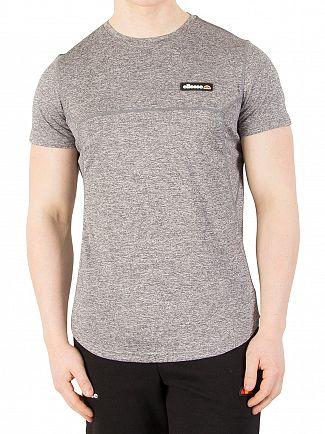 Ellesse Charcoal Marl Aicati Poly T-Shirt