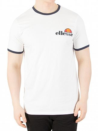 Ellesse Optic White Arigento T-Shirt