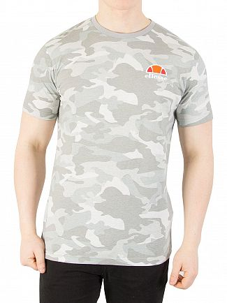 Ellesse Grey Camo Canaletto T-Shirt