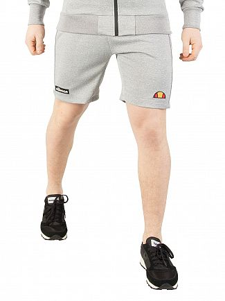 Ellesse Grey Marl Travers Poly Sweat Shorts