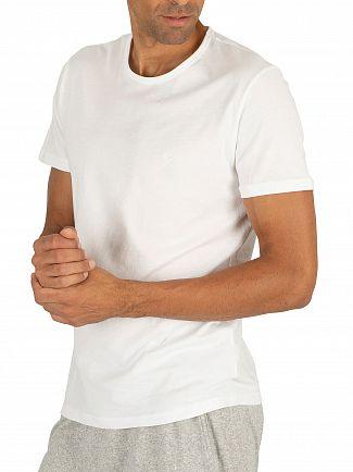 Emporio Armani White 2 Pack Pure Cotton T-Shirt