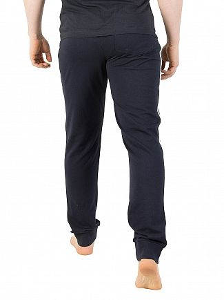 Emporio Armani Navy Badge Joggers