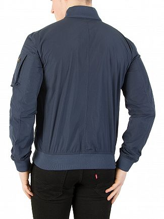 Hackett London Indigo Memory Blouson Jacket