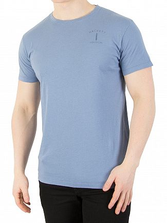 Hackett London Light Blue Mr Classic 1 T-Shirt