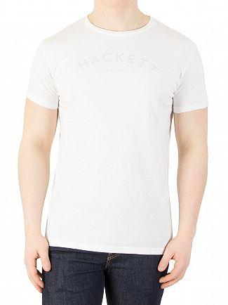 Hackett London White Mr Classic T-Shirt