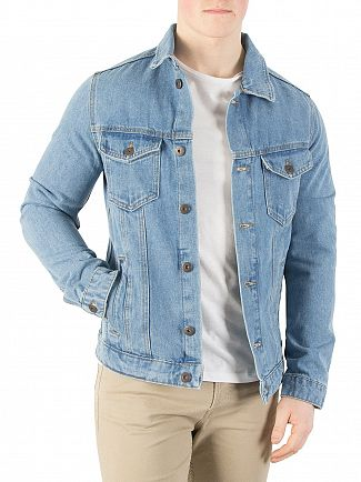 Jack & Jones Blue Denim Art Jacket