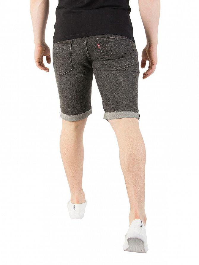 ccdda18d Levi's Men's 511 Slim Cutoff Bloke Denim Shorts, Grey | eBay