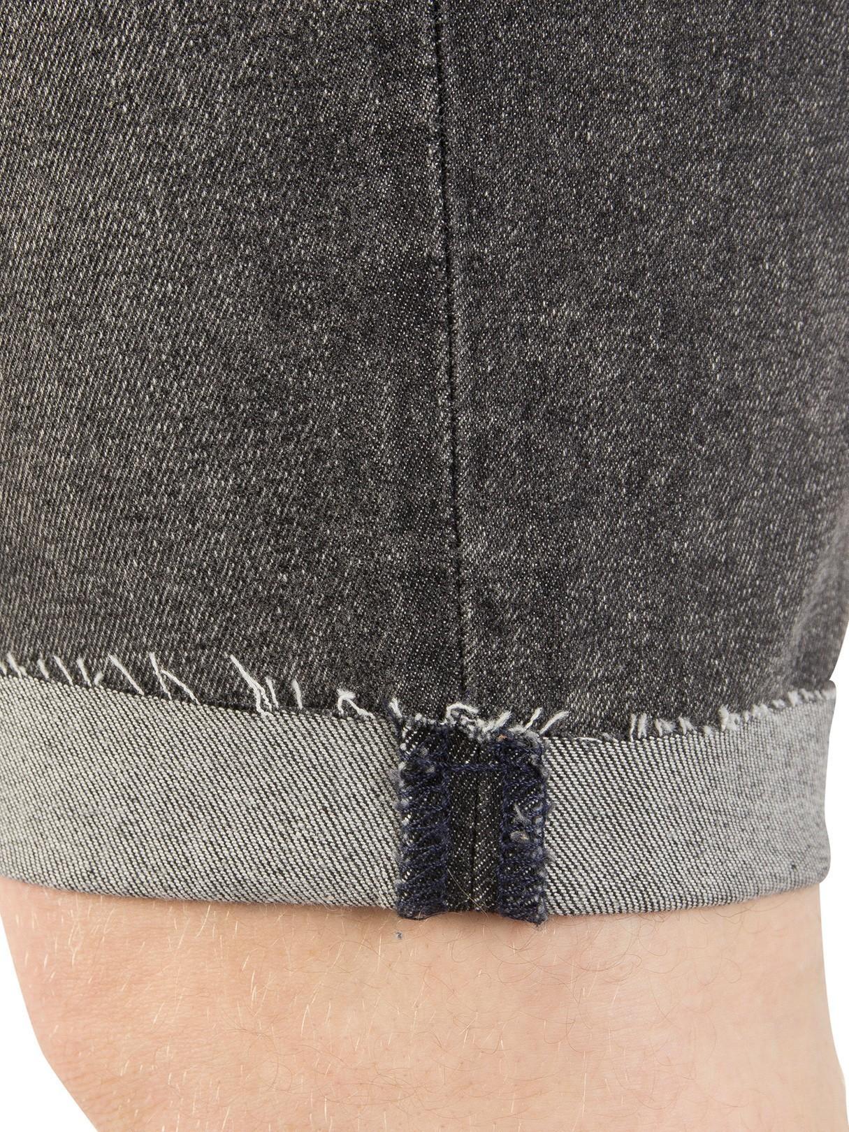 b3ba558d Levi's Charcoal 511 Slim Cutoff Bloke Denim Shorts | Standout