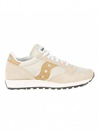 Saucony Cem/Tan Jazz Original Vintage Trainers