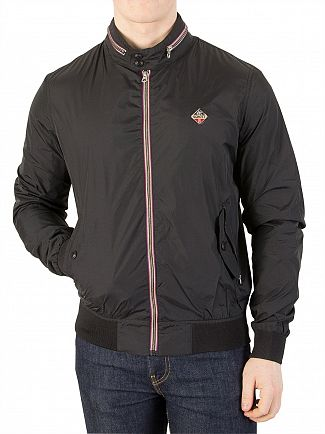 Schott Black Lightweight Jacket