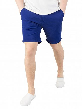 Scotch & Soda Cobalt Classic Chino Shorts