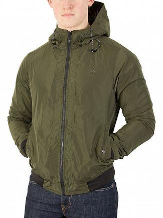 Scotch & Soda Military Short Hooded Jacket