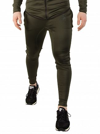 Sik Silk Khaki Athlete Joggers
