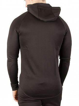 Sik Silk Black Athlete Zip Hoodie