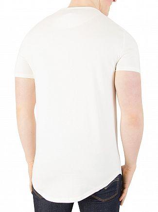 Sik Silk Pastel Yellow Gym T-Shirt