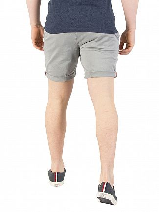 Superdry Cloud Grey Sunscorched Chino Shorts