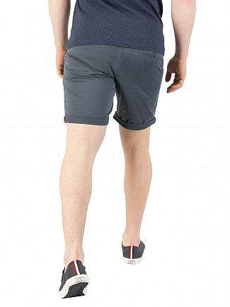 Superdry Carbon Blue Grey Sunscorched Chino Shorts