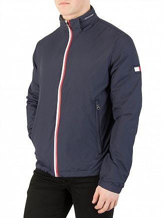 Tommy Hilfiger Navy Blazer Zip Jacket