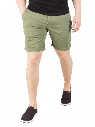 Tommy Jeans Deep Lichen Freddy Street Shorts