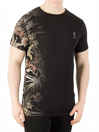 Religion Black Hawaiian T-Shirt