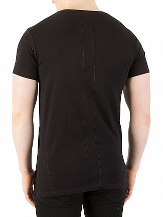 Religion Black Polaroid Graphic T-Shirt