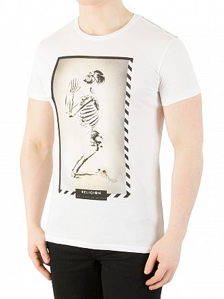 Religion White Polaroid Graphic T-Shirt