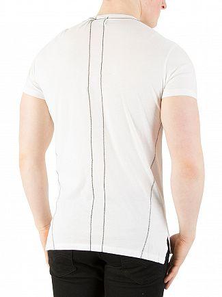 Religion White Polaroid Graphic T-Shirt