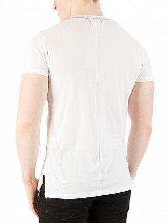 Religion White Stripe Pocket T-Shirt