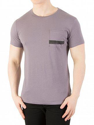 Religion Shark Stripe Pocket T-Shirt