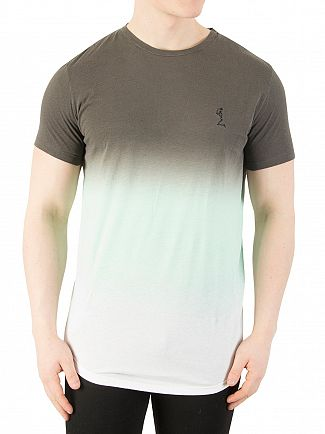 Religion Grey/Mint Sunset Fade T-Shirt