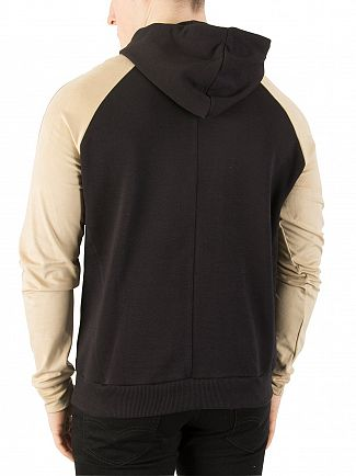 Religion Black/Tan Tuesday Raglan Hoodie