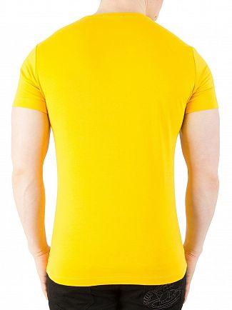Calvin Klein Jeans Spectra Yellow Tibokoy Slim Fit T-Shirt
