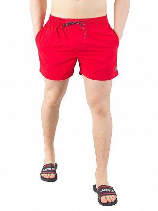 Fila Vintage Chinese Red Artoni Swimshorts