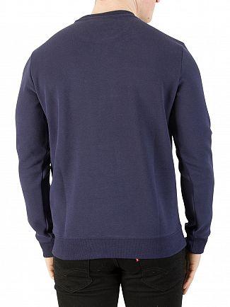 Fila Vintage Peacoat Carlo Rib Panel Sweatshirt