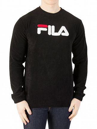 Fila Vintage Black Christopher Sweatshirt