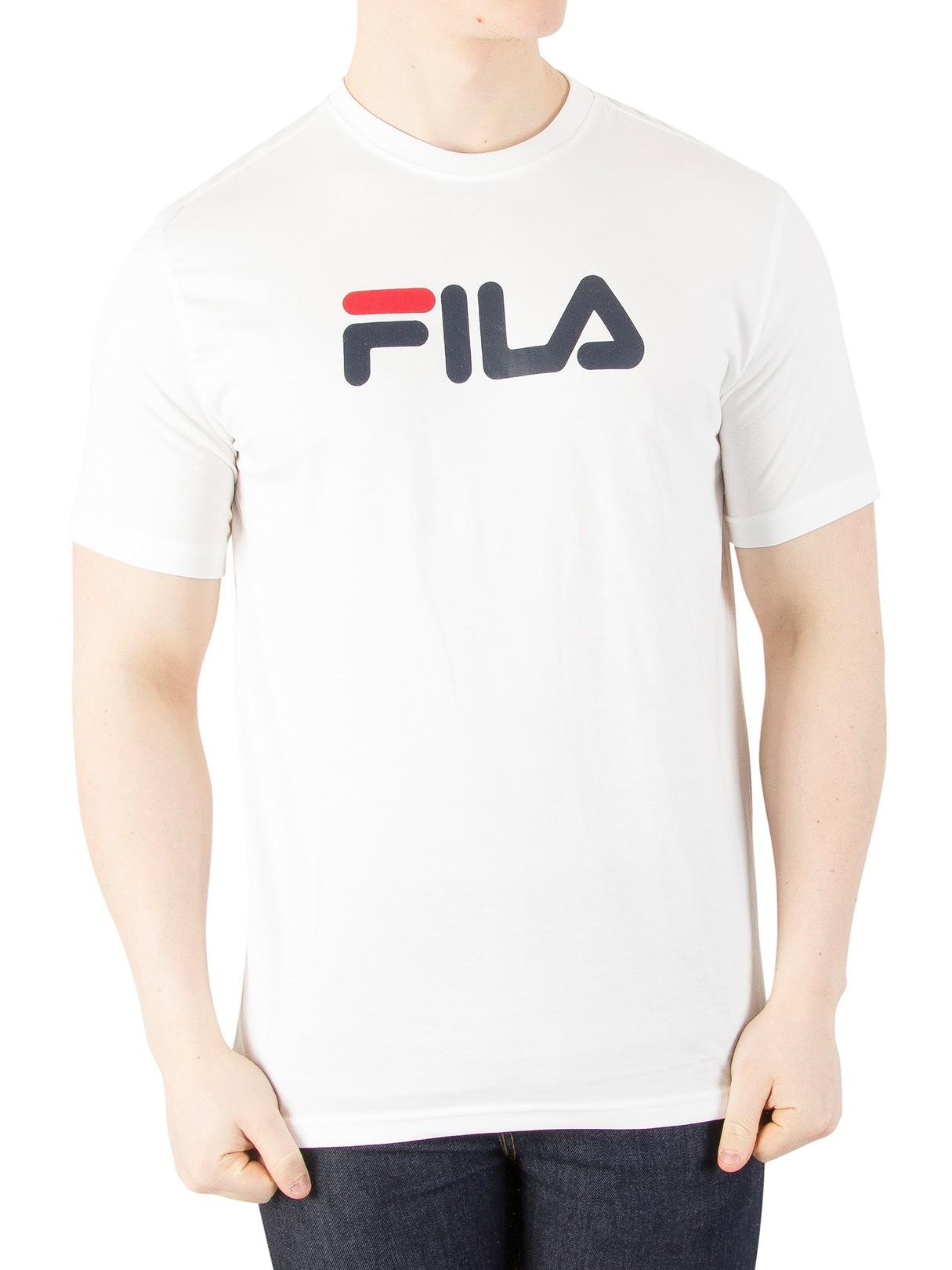 1bcf5e223 Fila Vintage White Eagle Logo T-Shirt | Standout
